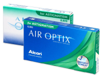 Air Optix for Astigmatism (6 leč) - Torične kontaktne leče