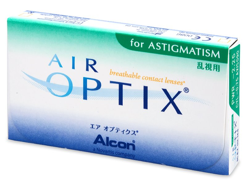 Starejši dizajn - Air Optix for Astigmatism (6 leč)